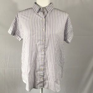 Levi's- NWT Striped cotton button-up shirt, size S